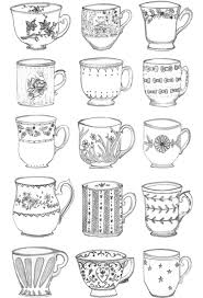 a lost feather teacups