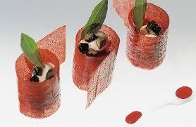 recette de cuisine sur 3 facefood restaurants sergio herman chef du restaurant oud sluis