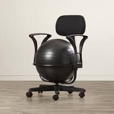 chaise ballon toutes les chaises de bureau type fauteuil balle wayfair ca