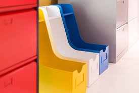 bannettes bureau bannettes de bureau orange et pour le rangement à l