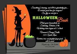 Halloween Free Printable Cards Halloween Birthday Party Invitations U2013 Gangcraft Net