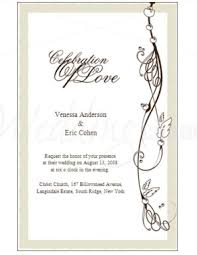 formal invitation template free template