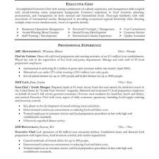 executive chef resume template chef resume templates resume sle for chef resume for study