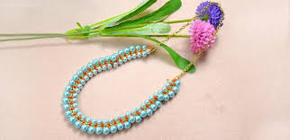 necklace making chains images How to make a double woven pearl necklace with chains and nylon jpg