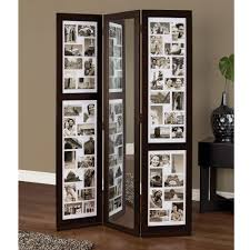 Mirror Room Divider by Home Decorators Collection 5 83 Ft Espresso 3 Panel Room Divider