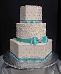 elegant tiffany blue and white wedding cake cakes beautiful