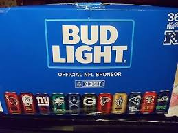 how much is a 36 pack of bud light 2017 bud light nfl limited collection 36 pack full cans 99 95