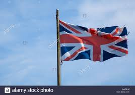 gbr flag union jack st george flag england england flag stock