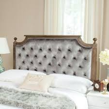 buy grey tufted headboard from bed bath u0026 beyond