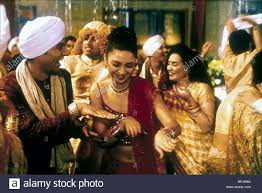 monsoon wedding neha dubey monsoon wedding 2001 stock photo royalty free image