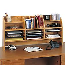 Safco Desk Organizers Safco Radius Front Desktop Organizer With Clearance 16