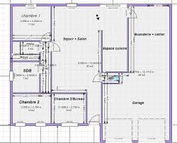 plan cuisine l plan maison en l 100m2 kuestermgmt co