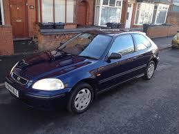 honda civic 1 5i ls vtec 3dr 1997 manual blue in tyseley west