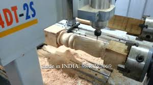 Used Woodworking Machinery In India by Indian Made Cnc Router For Turning And 3d Carving Youtube