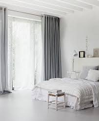 or gray gray curtains white walls one gray accent wall green