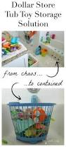 1 tub toy storage solution toy storage clutter and tubs