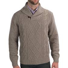 knit shawl collar sweater cardigan with buttons