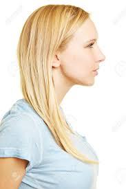 hair i woman s chin sideways woman face sideways stock photos royalty free woman face sideways