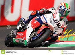 Nicky Hayden Usa Honda Cbr1000rr Sp Honda World Superbike Team