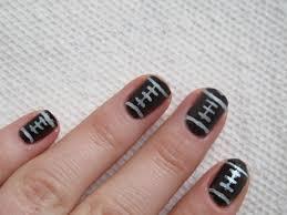 football nail art the hostess handbook