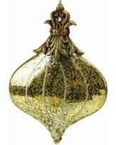 deal on 2 assorted gold glitter shaped