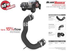 Ford Diesel Truck Generations - afe power new product bladerunner cold side intercooler tube 2008