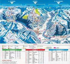 Piste Maps For Italian Ski by Bormio Piste Map
