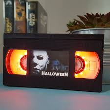 retro vhs halloween horror scifi night light table lamp order