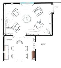 Dining Room Furniture Layout L Shaped Living Dining Room Furniture Layout Dining Room Furniture