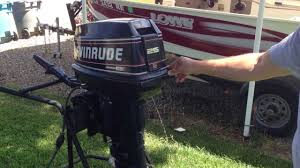 1994 evinrude 25hp commercial youtube