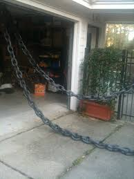 drawbridge chain made from foam pipe insulation halloween crafts