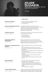 film resume samples visualcv resume samples database