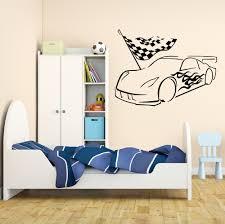 popular wallpaper garage buy cheap wallpaper garage lots from vinyl wall decal garage car racing racer boy room stickers mural removable bedroom livingroom wallpaper poster