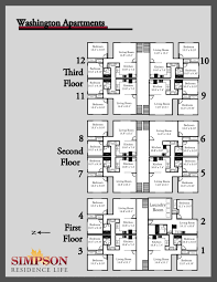Floor Plan Of An Apartment Housing Options