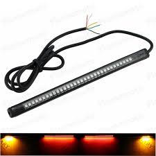 led light strip turn signal waterproof motorcycle led light strip tail brake stop turn signal