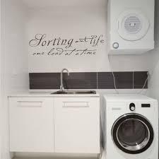 xs arte popular buscando e comprando fornecedores de sucesso de lavanderia sala de decalque em parede classificando vida uma carga em um tempo vinyl