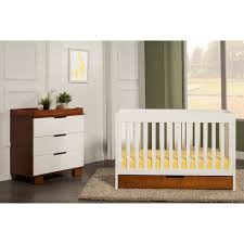 Convertible Crib Walmart Baby Mod Parklane 3 In 1 Baby Convertible Crib And White