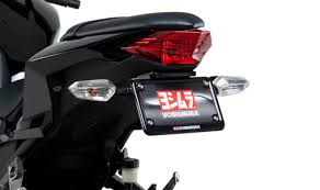 ninja 300 integrated tail light 2013 15 ninja 300 yoshimura fender eliminator