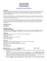 Resume Examples For Servers by Download Business Objects Resume Sample Haadyaooverbayresort Com