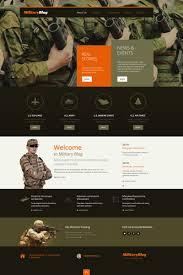best premium military wordpress themes templatemonster