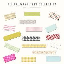 washi tape digital washi tape web elements creative market
