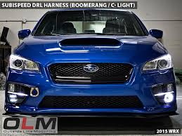 subispeed drl harness for boomerang c light 2015 wrx base