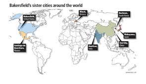 Csub Map Bakersfield U0027s Six Sisters Bakersfield Com