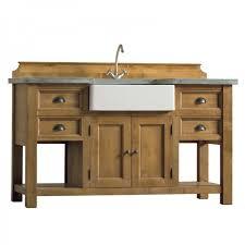 bloc evier cuisine meuble cuisine bois massif meuble cuisine bois et zinc meuble