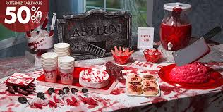 asylum halloween decorations decorations tableware props