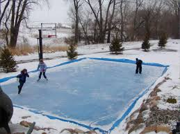 Making Backyard Ice Rink Embrace Cold Turn Your Sport Court Game Court Into An Ice Rink