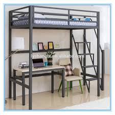 Bunk Beds  Loft Bed With Desk Ikea Metal Loft Bed With Desk And - Metal bunk bed with desk