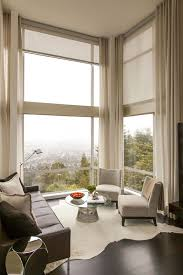 Simple Window Treatments For Large Windows Ideas Automatic Curtains And Blinds Free Home Decor