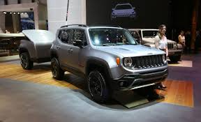 2015 jeep renegade diesel jeep renegade steel concept tough but its tiny trailer is