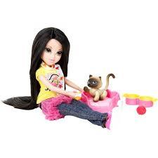 moxie girlz pets doll lexa mochi cat walmart